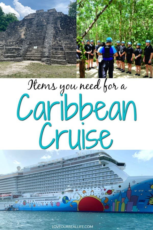 Items you need for a Caribbean Cruise