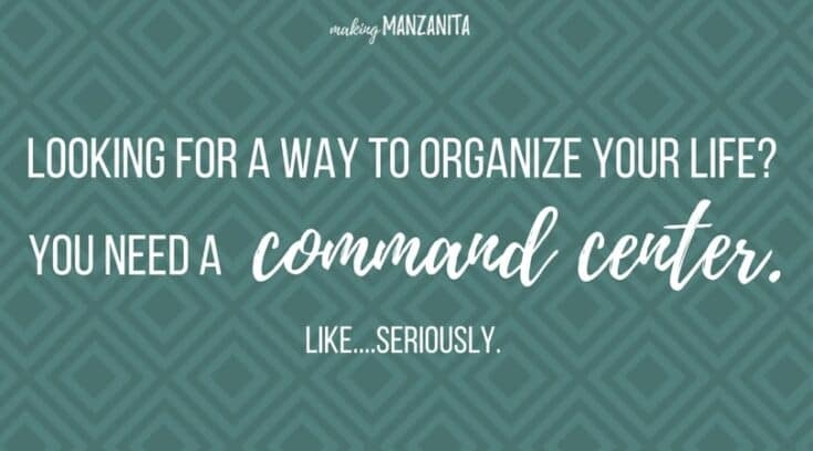 How To Create A Command Center On Fridge To Organize Your Life