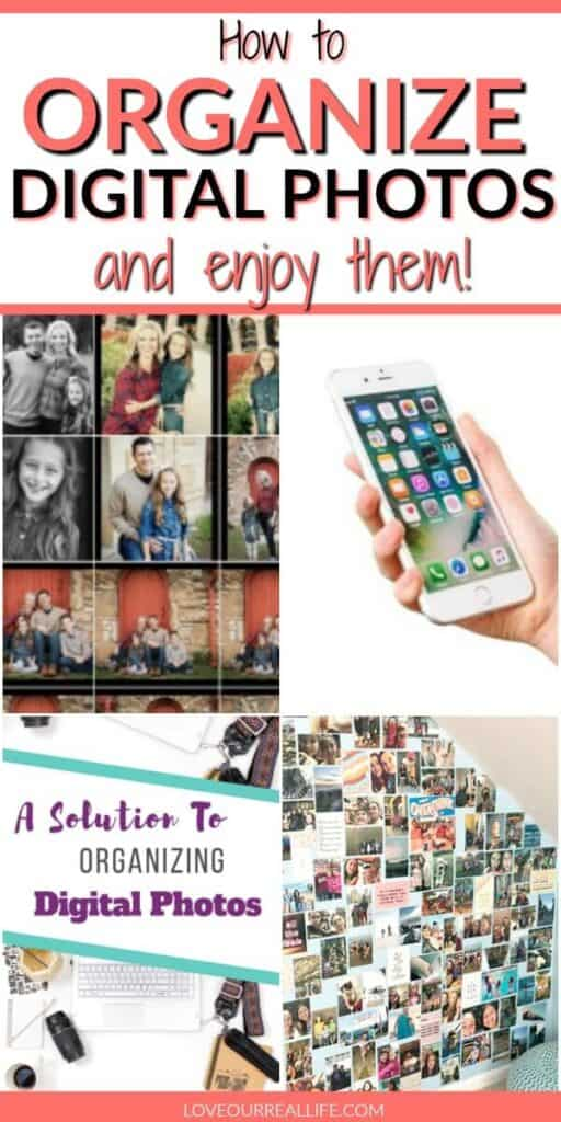 How to organize digital photos and enjoy them collage