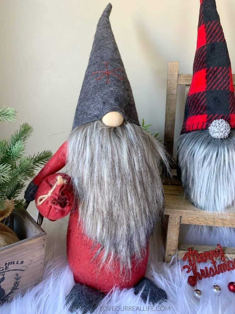 felt Christmas gnome