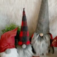 How to Make Christmas Gnomes: Sew and No Sew Instructions