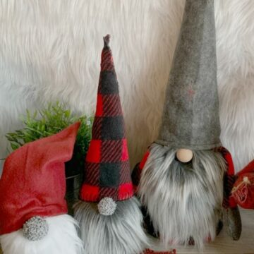scandinavian Christmas gnomes