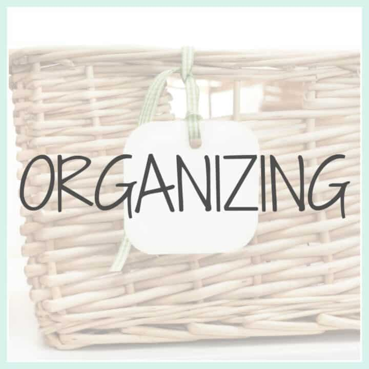 Organization and Cleaning Tips for the Home