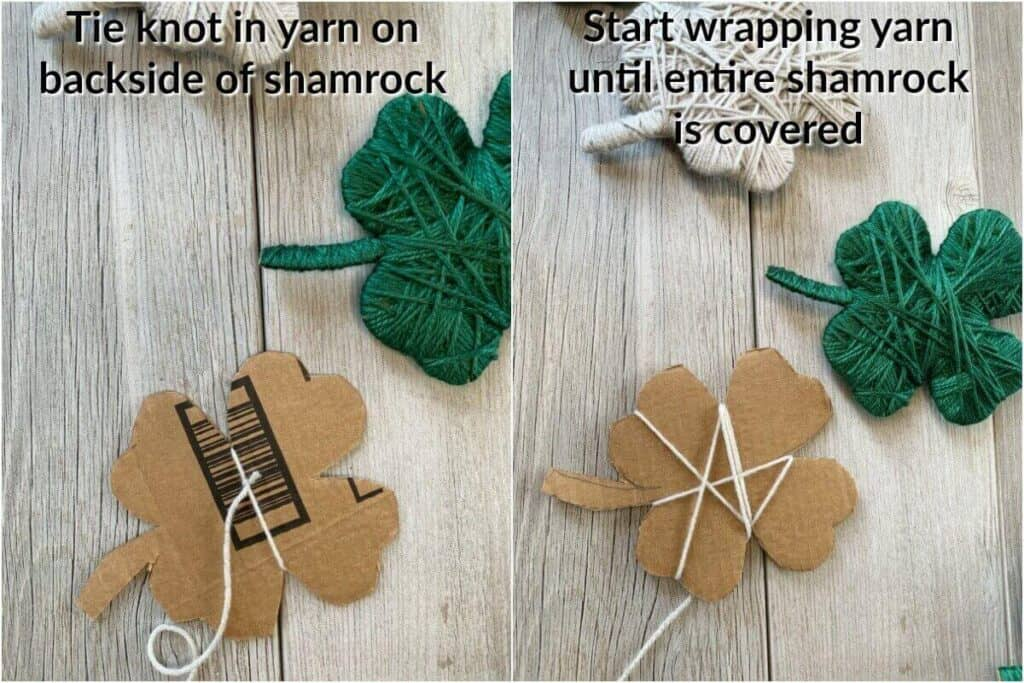 instructions wrap yarn