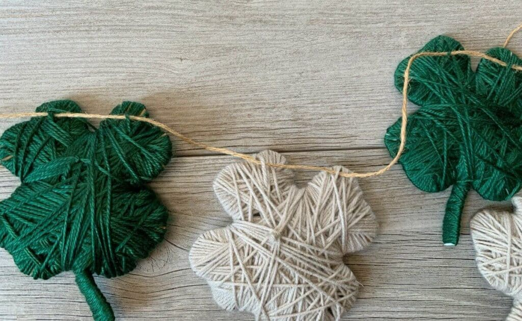 jute twine to hang garland