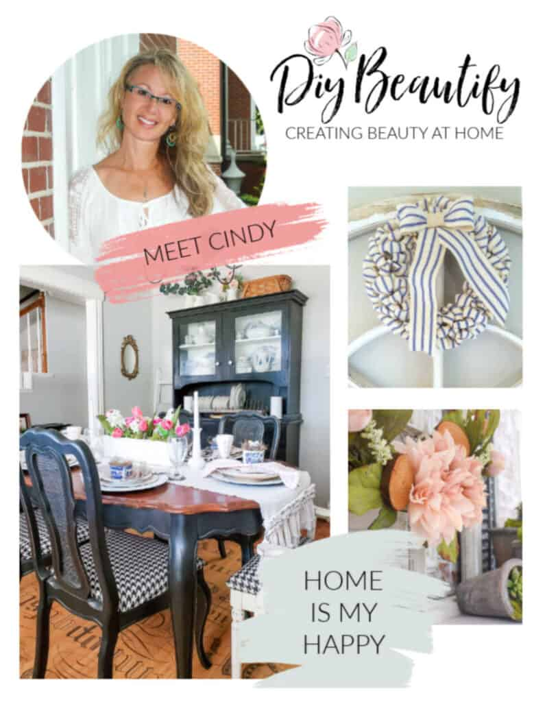 Cindy DIY Beautify collage