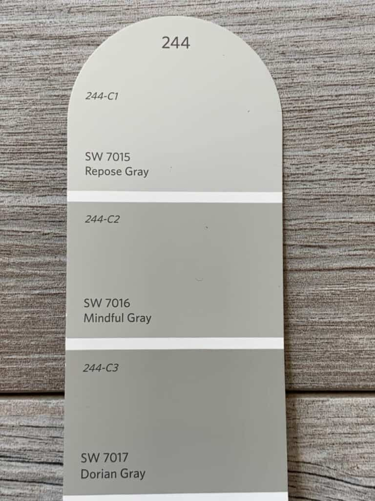 paint swatch Sherwin Williams 244
