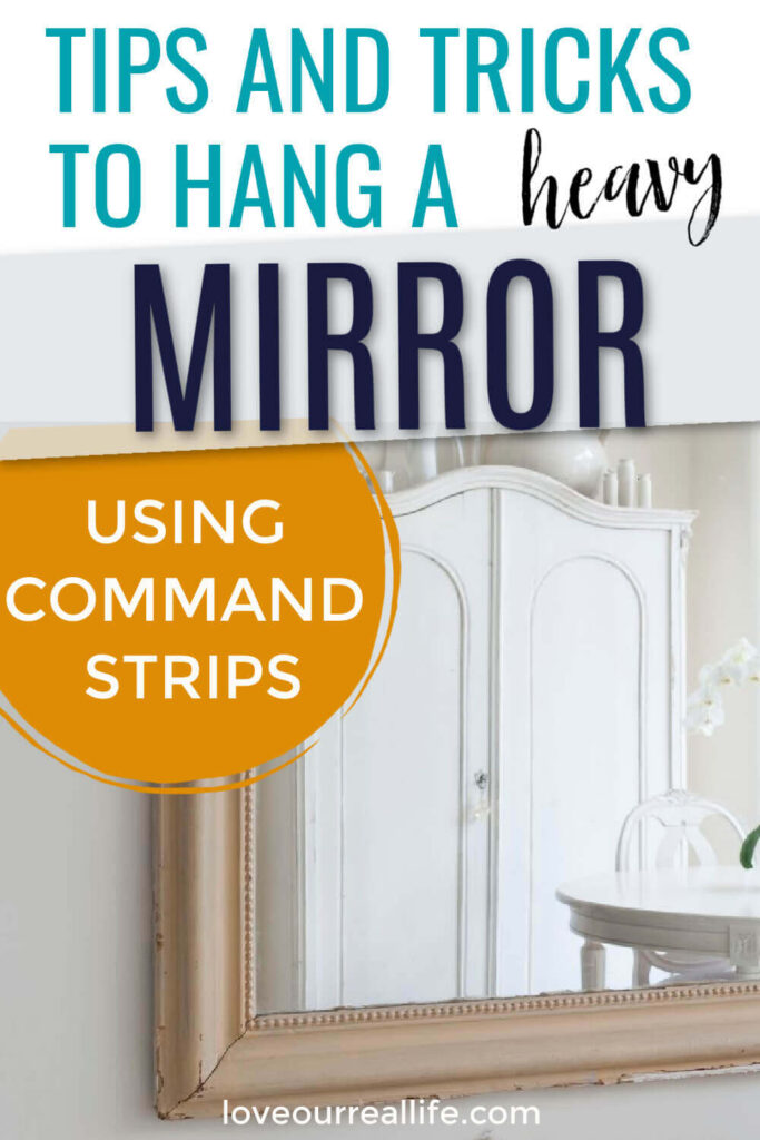 You Hang A Mirror With Command Strips, Can Command Hooks Hold A Mirror
