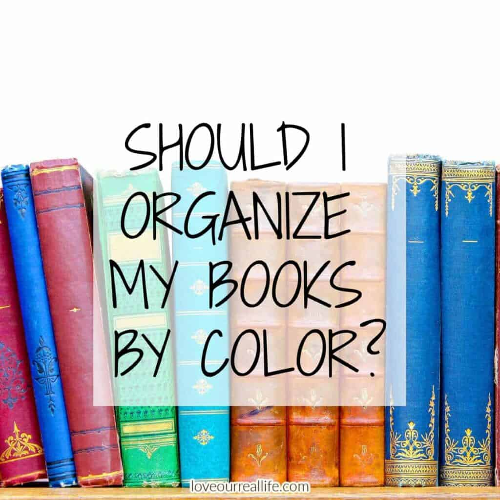 several books of various colors