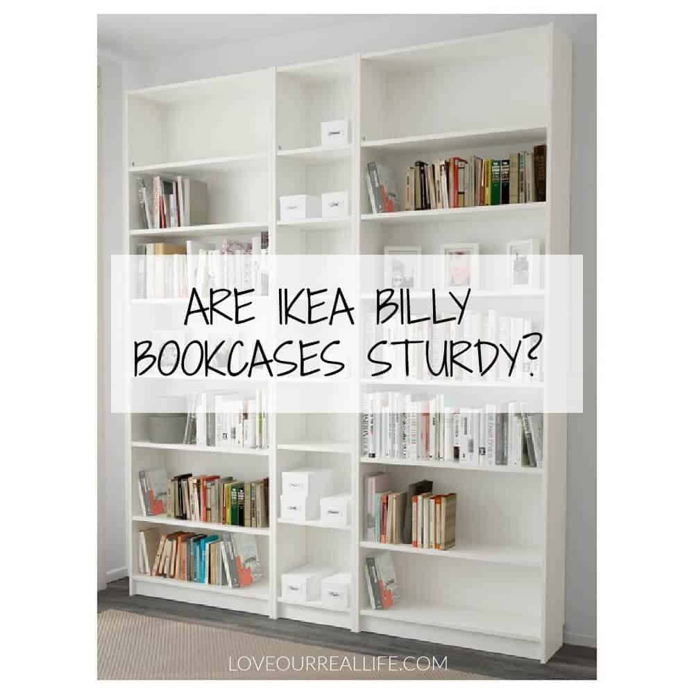 White Billy Bookcase from IKEA